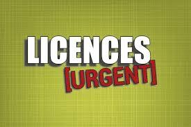 Important : Demande de Licence (2017-2018)