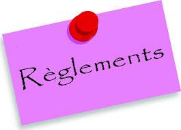 Dispositions règlementaires 2021/2022