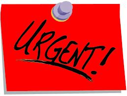 URGENT / COMMUNIQUE AUX CLUBS